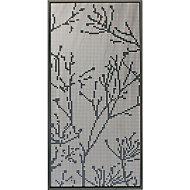 Panneau branche aluminium Neva anthracite