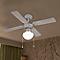 Ventilateur de plafond  blanc 1 x E27 Ø92 cm