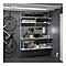 Réglette étanche LED Diall Neche gris 22W 60 cm
