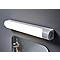 Réglette étanche LED Diall Enora blanc 8W 35 cm