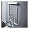 Réglette étanche LED Diall Enora blanc 8W 45 cm