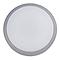 Hublot étanche LED DIALL Sanbo gris 1000lm Ø20 x P.6,5 cm