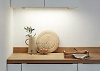 Réglette à détection LED Colours Upha argent 10W 60 cm IP20
