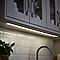 Réglette à détection LED Diall Upha argent 15W 90 cm IP20