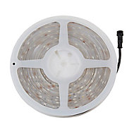 Ruban lumineux LED Colours Emmett 5m IP65 RVB et blanc neutre + télécommande IP65