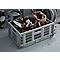 Boîte pliable en plastique Foldie gris 46 L