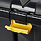 Coffre en plastique Skyda noir 111 L