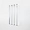 Pare-baignoire 4 panneaux en verre finition poli