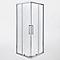 Porte de douche en angle Cooke & Lewis Zilia 90 cm