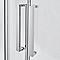 Porte de douche circulaire en angle Cooke & Lewis Zilia 90 cm