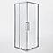 Accès d'angle Zilia transparente 80 cm 1/2
