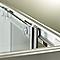 Accès d'angle Zilia transparente 80 cm