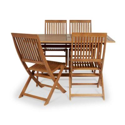 Salon de Jardin Malili 1 table + 4 chaises