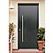 Porte d'entrée acier Toubkal 215 x 90 cm poussant droit