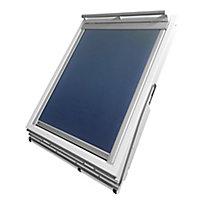 Store occultant fenêtre de toit 78 x 98 cm bleu