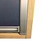 Store occultant fenêtre de toit 114 x 118 cm bleu