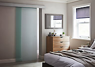 Porte seule vitrée dépolie Kidal 83 cm