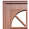 Porte d'entrée bois Anapurna 215 x 90 cm poussant gauche