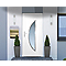 Porte d'entrée pvc Semisphera 215 x 90 cm poussant droit