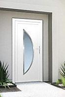 Porte d'entrée pvc Semisphera 215 x 90 cm poussant gauche