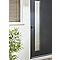 Porte d'entrée alu Jorasses 215 x 90 cm poussant gauche