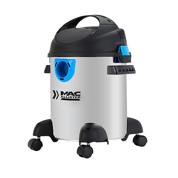 Aspirateur eau et poussière Mac Allister 30SIK + kit 30L