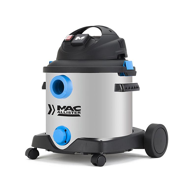 Aspirateur eau et poussière Mac Allister 30L   Castorama