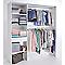 Kit dressing Zenit blanc H.200 x L.180 x P.48 cm