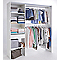 Kit dressing Zenit coloris blanc H.200 x L.180 x P.48 cm