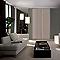 Porte de placard coulissante décor chêne gris Form Valla 62,2 x 250 cm
