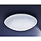 Plafonnier Leto métal/plast. blanc Ø 25 cm LED 9,5W