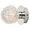 Spot patère Phaidros métal chrome G9 25 W