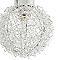 Réglette 2 spots Phaidros métal chrome G9 2x25 W