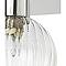 Plafonnier 3 spots Eupraxia métal/verre chrome G9 3x25 W