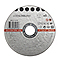Disque de coupe pierre 125x2,5x22,2mm 5pièces