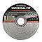 Disque de coupe métal 115x1,6x22,2mm