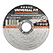 Disque de coupe métal/inox 115x1x22,2mm