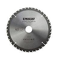 Lame scie circulaire TCT Ø210 x30/25/20/16 Moyenne 40 dents