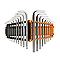 Clés héxagonales et Torx MAGNUSSON - 18 pièces