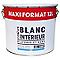 Peinture intérieure plafonds et murs COLOURS blanc mat 12 L