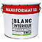 Peinture intérieure plafonds et murs COLOURS blanc satin 12 L