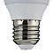 Ampoule LED E27 3,3W=25W blanc chaud