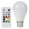 Ampoule LED VEEZIO B22 9,5W=60W RVB +télécommande