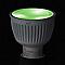 2 ampoules IDUAL LED GU10 spot 6,5W=35W RGB +télécommande