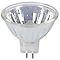 3 ampoules halogène MR16/GU5,3 42W=50W blanc chaud