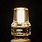 2 ampoules LED capsule G9 2W=18W blanc chaud