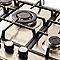 Plaque de cuisson au gaz 5 zones COOKE AND LEWIS CLGASFSRP5