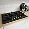 Plaque de cuisson au gaz 5 zones Cooke & Lewis CLGOGFSRP5