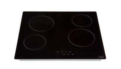 plus de photos 286e3 fa4b3 Plaque de cuisson vitro 4 foyers Cooke & Lewis CLCER60 | Castorama