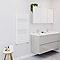Sèche-serviettes eau chaude BLYSS Emsworth blanc 444W